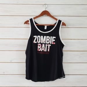 Other - The Walking Dead Zombie Bait unisex tank top med